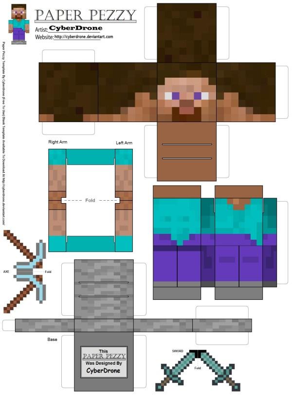 minecraft printable blocks # 9