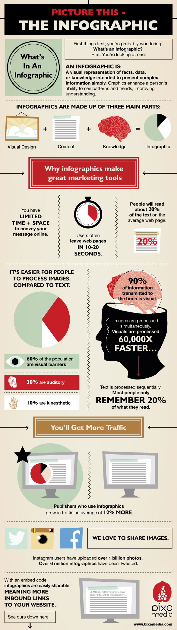 What Is An Infographic? - Bixa Media