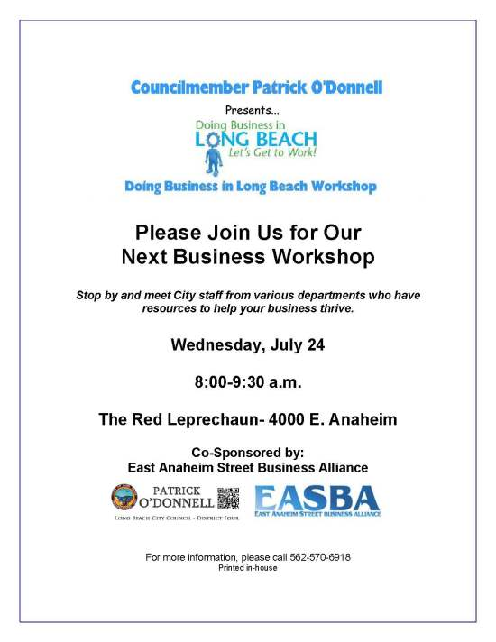 Long Beach Business Workshop 2