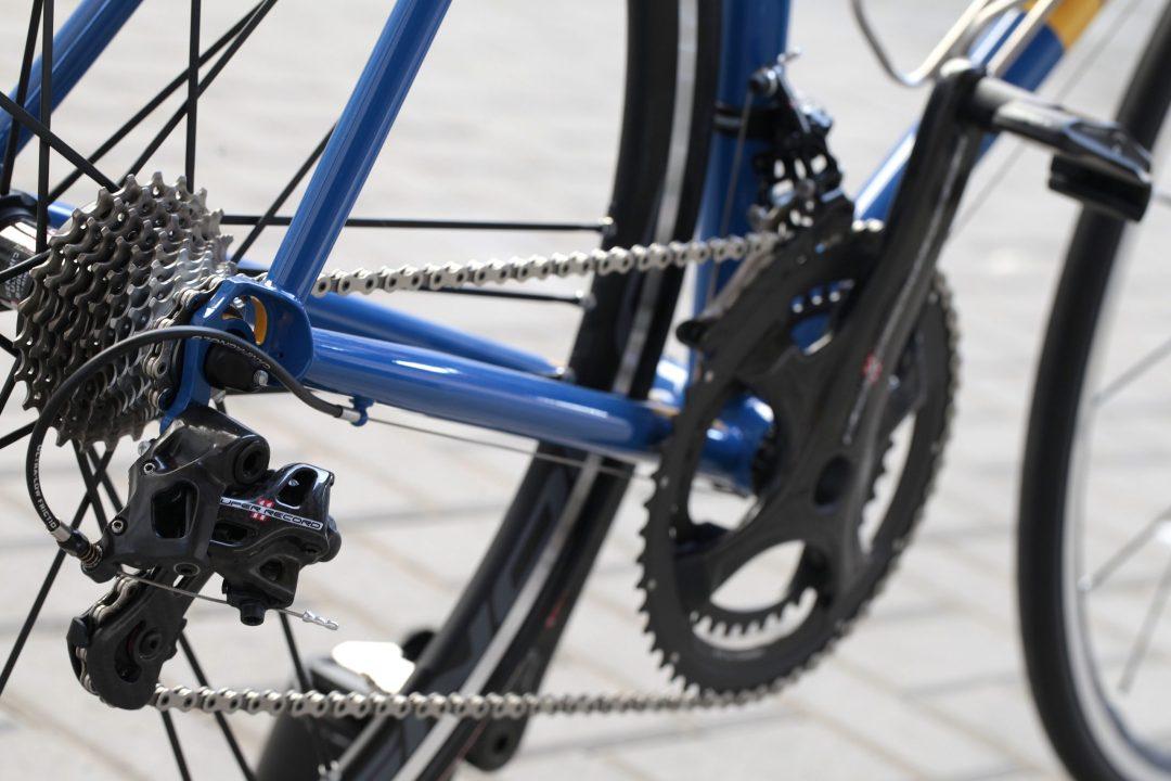 06 Dettaglio forcellini, tubi posteriori di Bixxis Prima, bicicletta artigianale in acciaio realizzata a mano da Doriano De Rosa 009