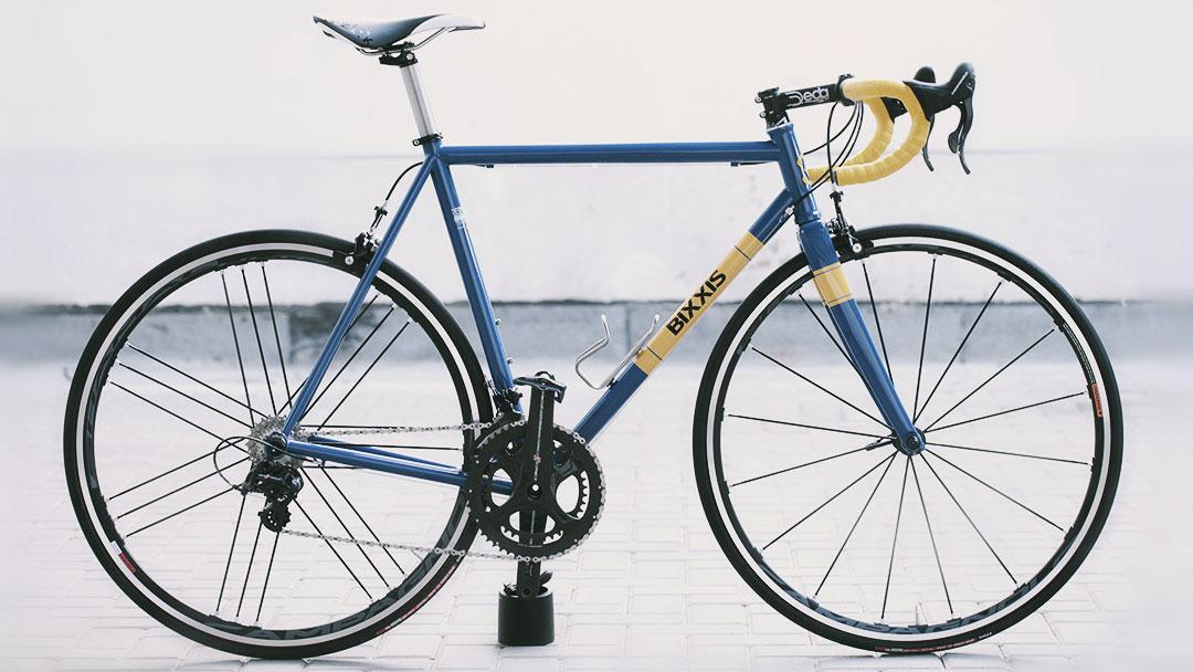 Bicicletta Bixxis costruita da Doriano De Rosa