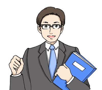 転職エージェントの男性