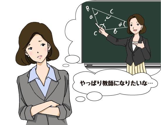 教師になりたい女性
