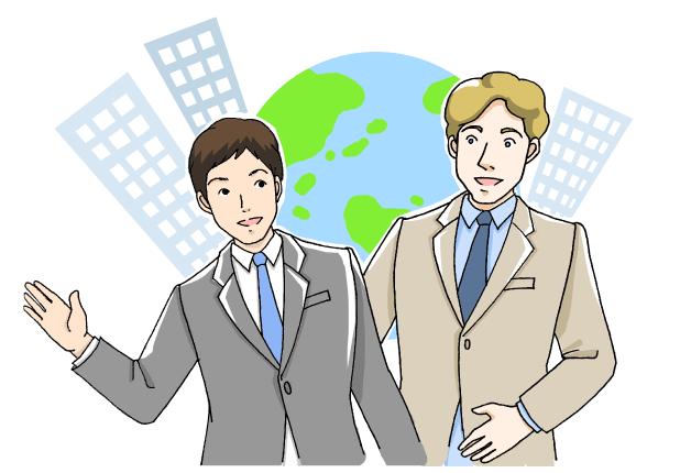 日本人商社マンと海外商社マン