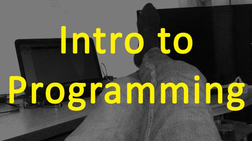 Intro to coding basics – Pogramming for beginners