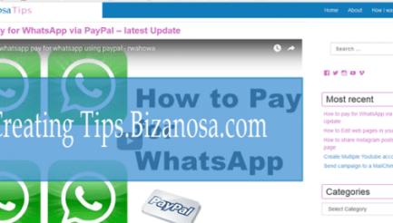 Creating a WordPress Blog - Creating tips bizanosa com - Bizanosa