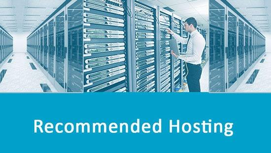 Check out the Recommended Web Hosts