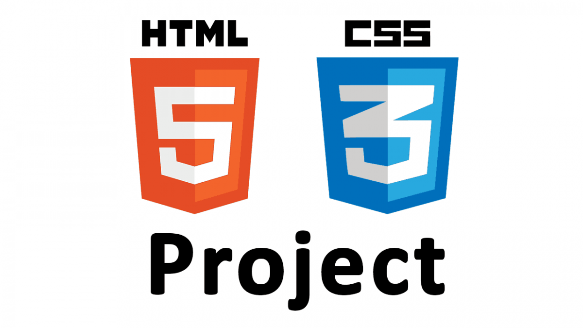 web design tutorial- HTML css project
