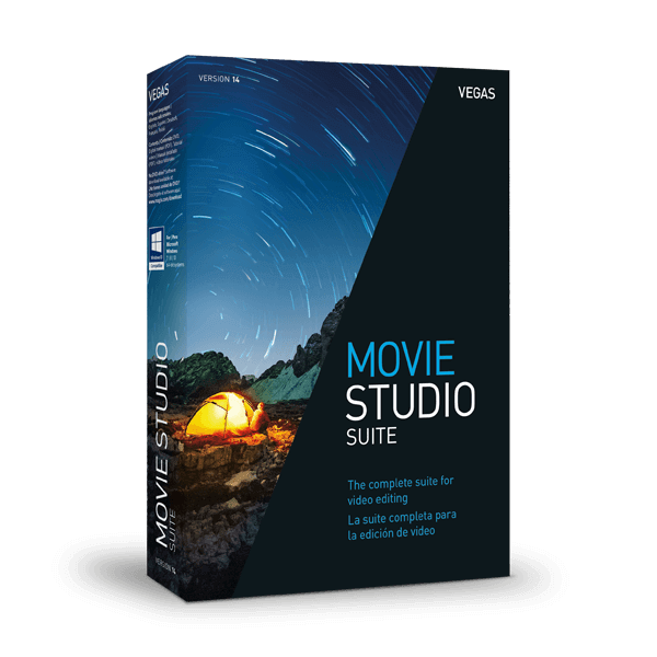 VEGAS Creative Software - VEGAS Movie Studio 14 Suite