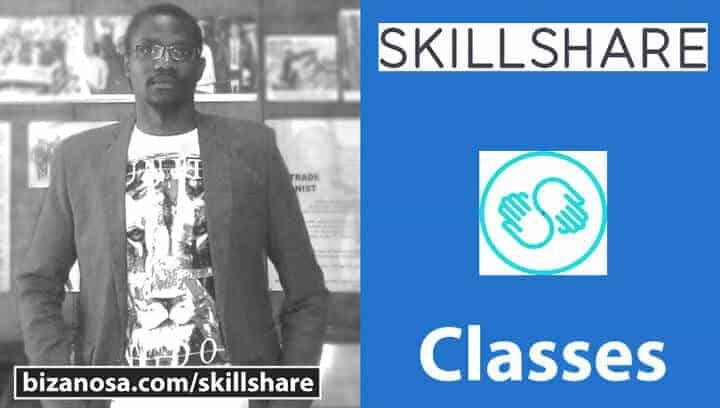 skillshare classes by Ricky Wahowa