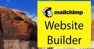 Overview of Mailchimp Website Creator