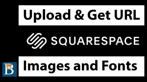 This is how to get the Squarespace Image / font URL