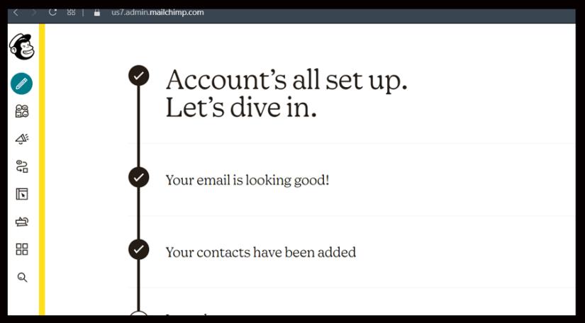 Mailchimp Dashboard tutorial by bizanosa