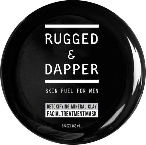 RUGGED & DAPPER Detox and Acne Face Mask for Men Review