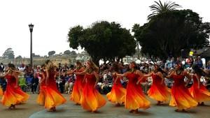 Te Hau Nui Hula Tahitian dance performance.