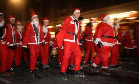 London Santa Skate