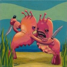 The Sea-Monkey Knife Fight