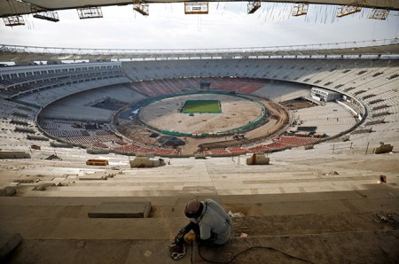 the world s largest cricket stadium sardar patel stadium is expected to be inaugurated this month biz behind sports