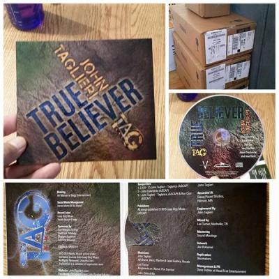 John Taglieri True Believer CDs