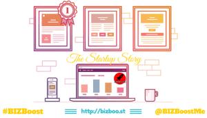 The Startup Story - LinkedIn #BIZBoost Creative