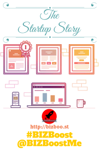 The Startup Story - Pinterest #BIZBoost Creative