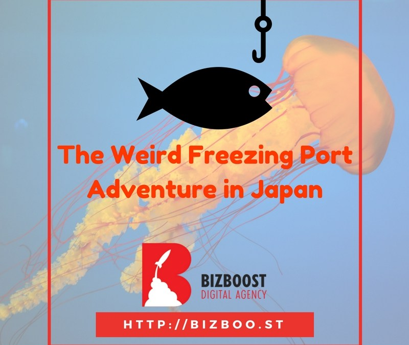 """The Weird """"Freezing Port"""" Adventure in Japan"""
