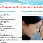 Purposes of Business Communication