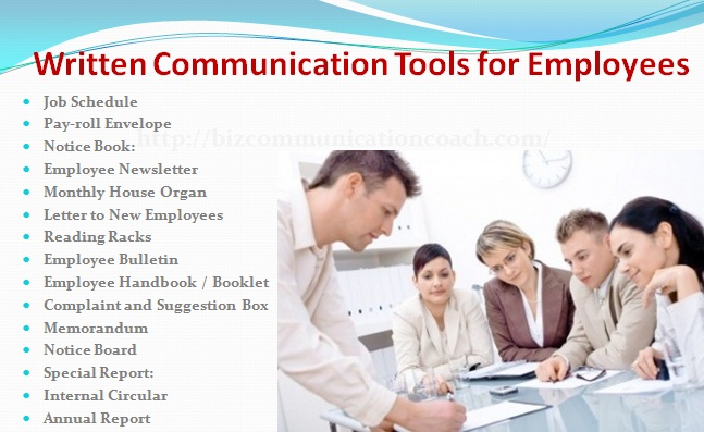 Written Communication Tools for Employees