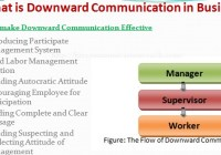 What is Downward Communication