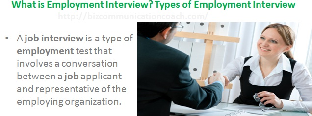 What is Employment Interview