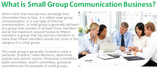 What is Small Group Communication