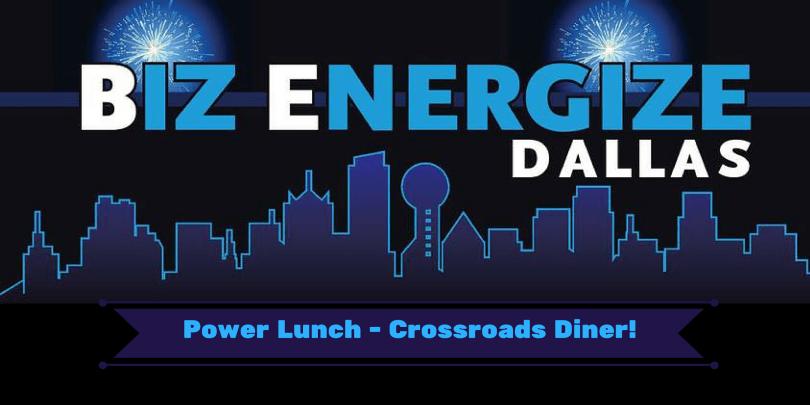 BizEnergize Power Lunch Banner - Crossroads Diner