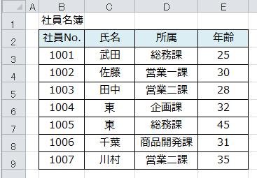 Excel_ソート_1