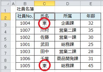 Excel_ソート_3