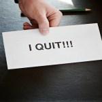 仕事を辞める5つの理由