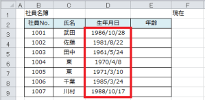 Excel_年齢_1