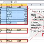 【エクセルの基本】複数の項目の絞り込みに便利なフィルタオプションの使い方