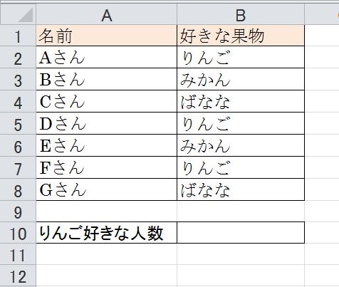 エクセル_COUNTIF_1