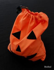 le sac à bonbons pour Halloween est prêt à être utilisé !