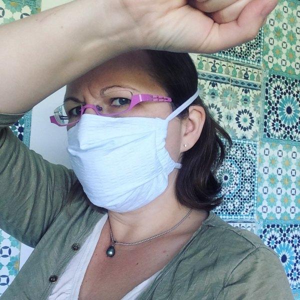 masque en tissu adulte aux normes AFNOR contre le coronavirus covid 19