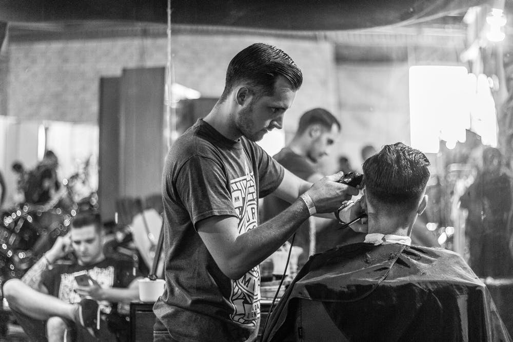 Hair and barbing salon business in Mexico