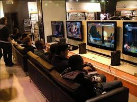 Video game parlor