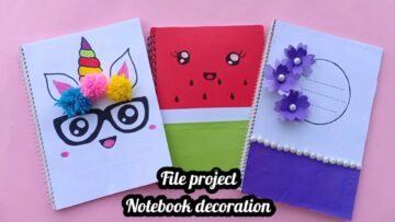 How To Make File Project Bizimtube Creative Diy Ideas Crafts And Smart Tips