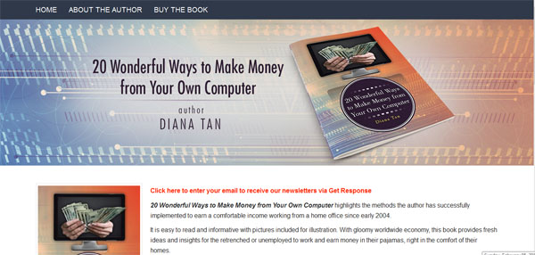 20 wonderful ways to make money from your own computer ebook from clickbank
