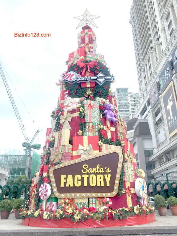Christmas Tree at Penang Times Square
