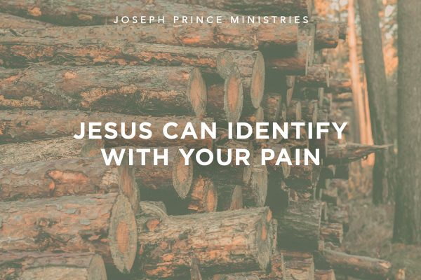 Jesus can identify with your pain