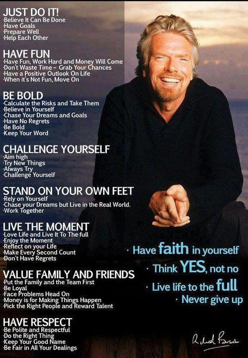 Have Faith in Yourself - Richard Branson
