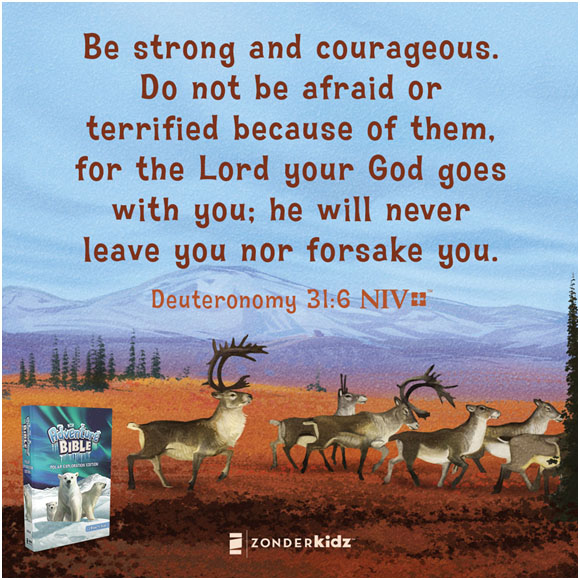 Be Strong and Courageous\