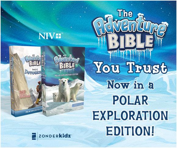 New International Version NIV Polar Exploration Bible