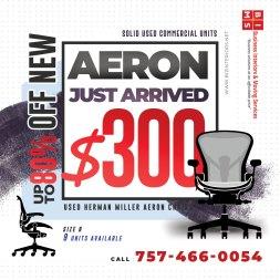 Herman Miller Aeron Chair Used